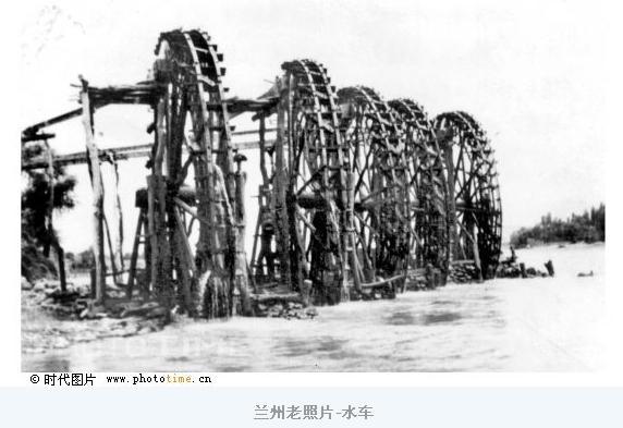 古代浇灌水车结构图